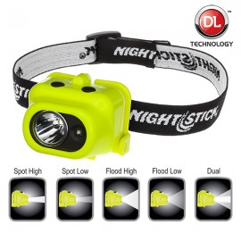 Intrinsically Safe Multi-Function Dual-Light™ Headlamp NIGHTSTICK