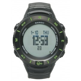 Wristwatch with Compass, Altimeter & Weather Station
