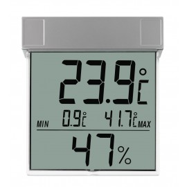 """VISION' DIGITAL WINDOW THERMO-HYGROMETER TFA 30.5020"