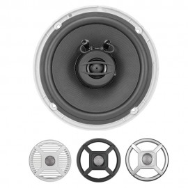 "WATERPROOF LIGHTED COAXIAL SPEAKERS 6.5"" - 50W JENSEN"