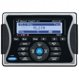 Jensen JMS2214BT AM/FM/WB/USB Bluetooth HeadUnit
