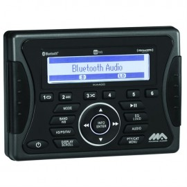 WATERPROOF MARINE STEREO AM/FM/USB/BT JENSEN MA400