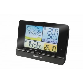 WEATHER STATION BRESSER METEOTREND COLOUR RADIO CONTROLLED