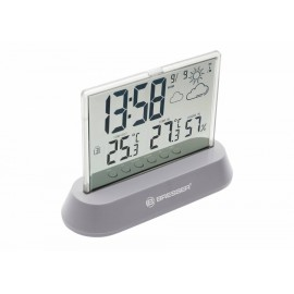 WEATHER STATION BRESSER TRANSLUCIDUS RADIO CONTROLLED