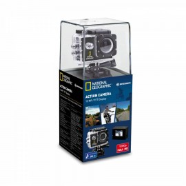 ACTION CAMERA NATIONAL GEOGRAPHIC, 140°, 30m WATERPROOF FULL-HD
