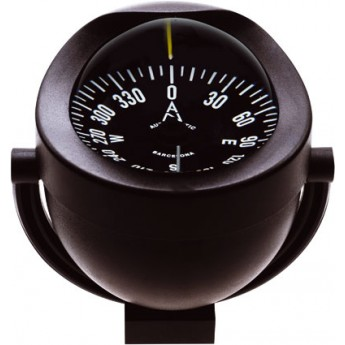 Bracket Mount Magnetic Compass 85mm with light AUTONAUTIC