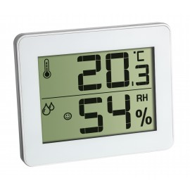 DIGITAL THERMO-HYGROMETER WHITE TFA 30.5027