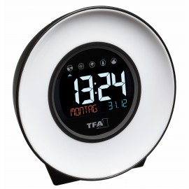 LIGHT CLOCK-ALARM WITH NATURAL SOUNDS TFA 60.2023.02