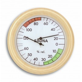 SAUNA THERMO-HYGROMETER WOOD TFA 40.1006