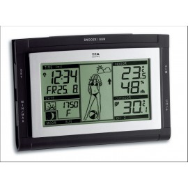 WIRELESS WEATHER STATION PAM XS TFA 35.1064.01.51.IT