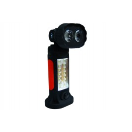 "WORKING LAMP ""ON"" 2 LED 1W COB / 14 SIDE LED SMD / 100LM+120LM"