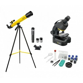 COMPACT TELESCOPE AND MICROSCOPE SET NATIONAL GEOGRAPHIC