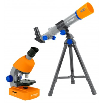 TELESCOPE-MICROSCOPE SET JUNIOR BRESSER