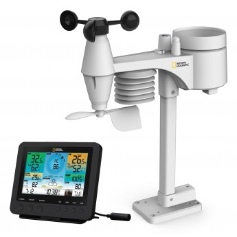 WEATHER STATION NATIONAL GEOGRAPHIC COLOR WiFi 7IN1