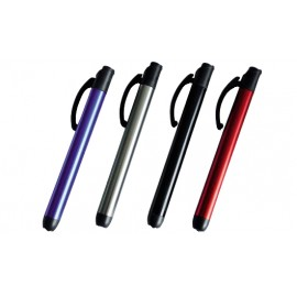 "FLASHLIGHT PEN ""REXER"" LED 15 LM WITH BELT CLIP"