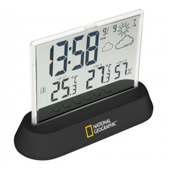 WEATHER STATION NATIONAL GEOGRAPHIC WIRELESS TRANSPARENT