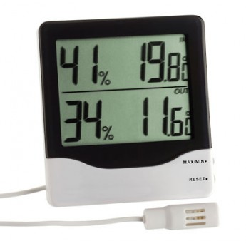 DIGITAL THERMO-HYDROMETER WITH CABLE TFA