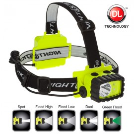 Intrinsically Safe Permissible Multi-Function Dual-Light™ Headlamp NIGHTSTICK