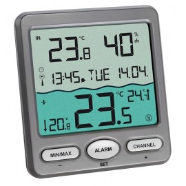 'Venice' wireless pool thermometer TFA