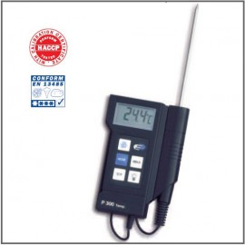 """P300"" PROFI-DIGITAL THERMOMETER WITH CALIBRATION CERTIFICATE TFA"